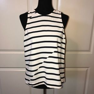 Madewell Striped Blouse NWOT
